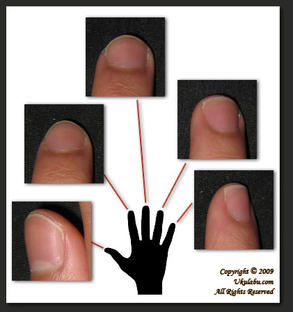 Pictures of Fingernail Lines/Ridges - What you don't know about